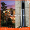 china supplier extrusion garden lighting pole light