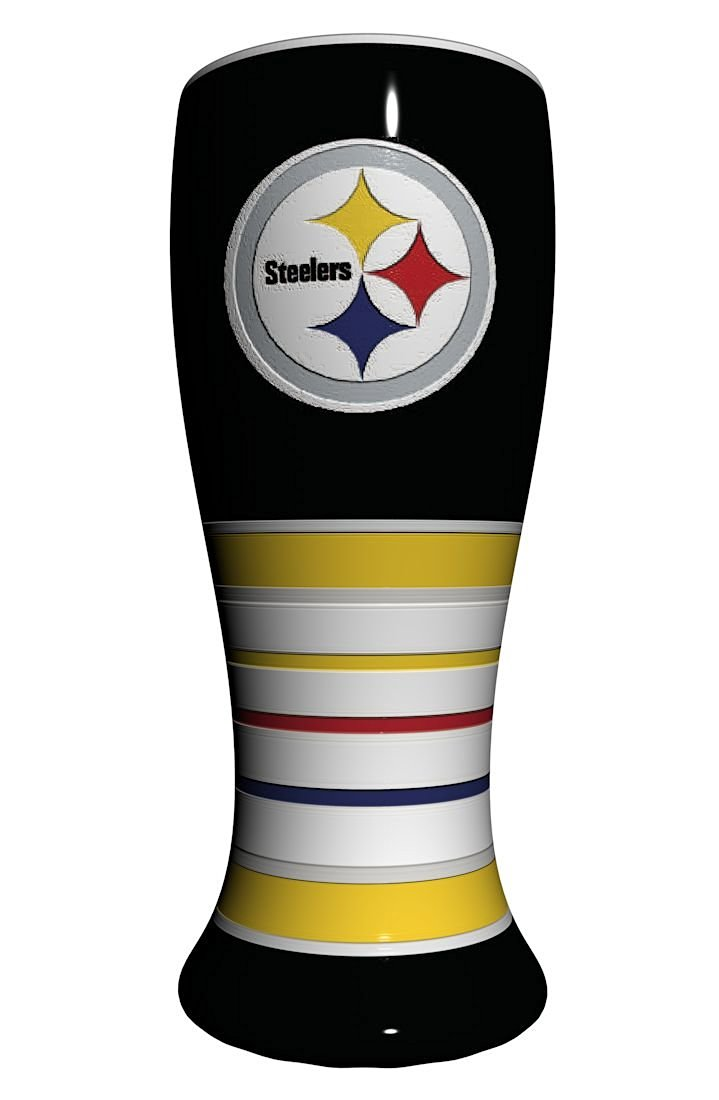 Pittsburgh Steelers Artisan Pilsner Glass
