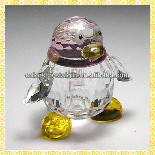 High Quality Crystal QQ Penguin For Party Take Away Gifts