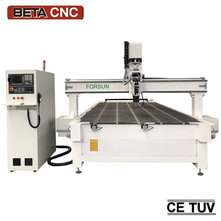 FORSUN small table 1212 1325 YAKO driver cnc router machine for wood acrylic and aluminum cutting