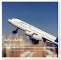 Passenger aircraft model Airbus A380 Boeing 777 Sound and light Pull Back kids toys metallic material