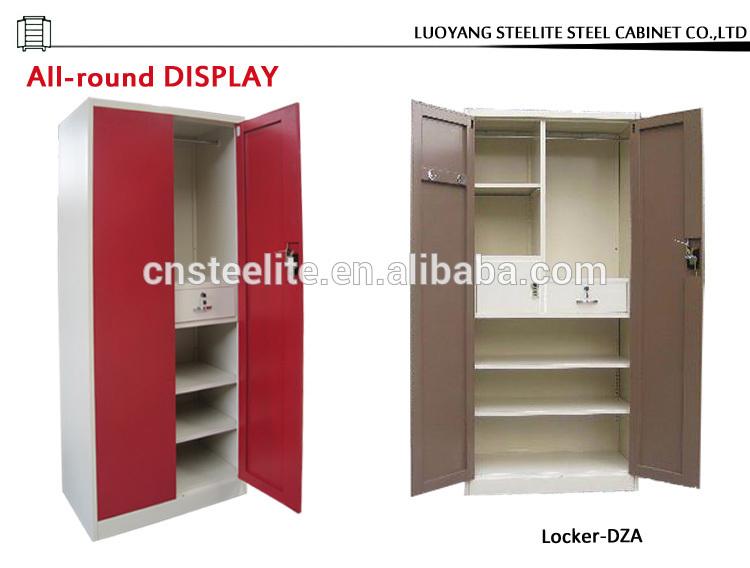 India Painting Double Door Steel Iron Almirah Designs
