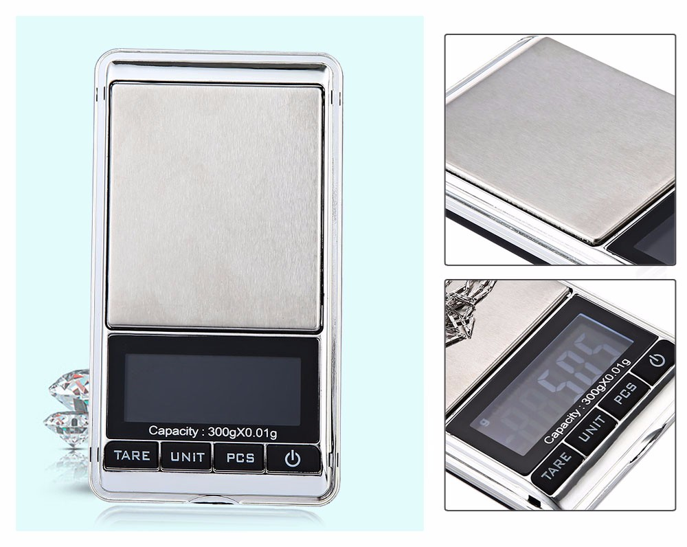 300gx0.01g Mini Digital <strong>Scale</strong> 0.01g Portable LCD Electronic Jewelry <strong>Scales</strong> Weight Weighting Diamond Pocket <strong>Scales</strong>