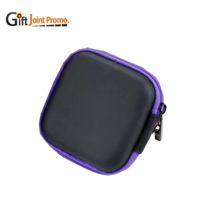 Portable EVA Protection Earphone Carry Case