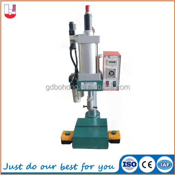 Mini manual pneumatic punching press machine