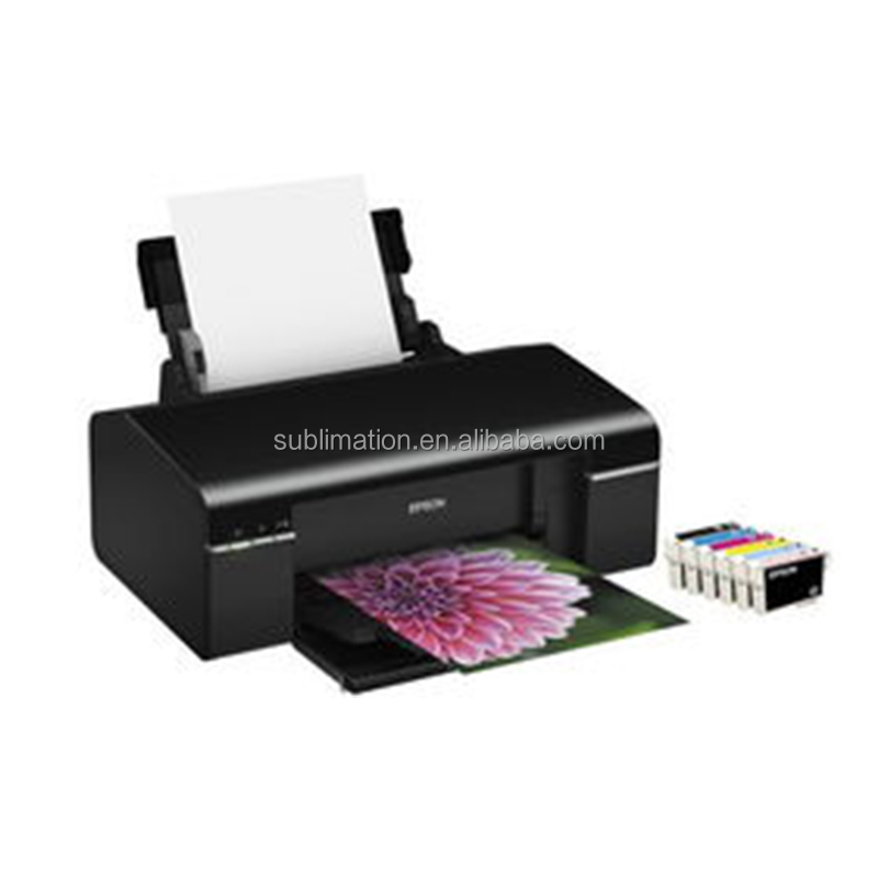 hot sale fabric printing machine sublimation printer a4 price for double CMYK color
