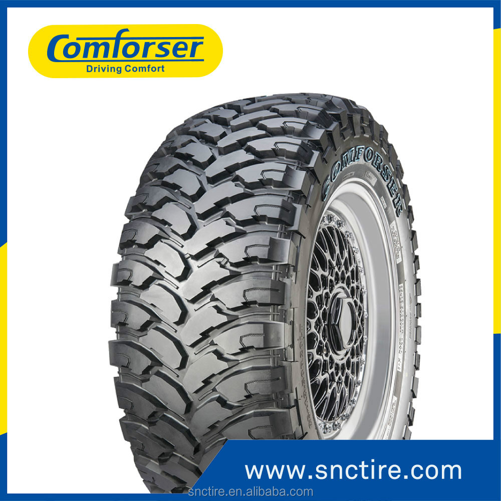 New MT car tires for sale from COMFORSER brand Big sizes