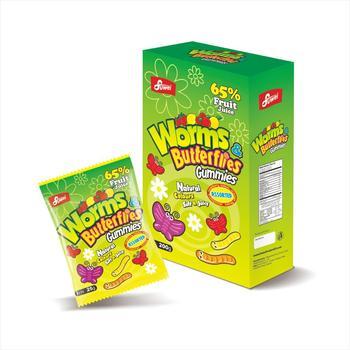 65% Oem Fruit Juice Halal Soft Gummy Jelly Gelatin Pectin Sweets Candy -  Buy All Shapes Gummy Jelly Soft Candy,Center Filled Soft Gummy Candy Jelly