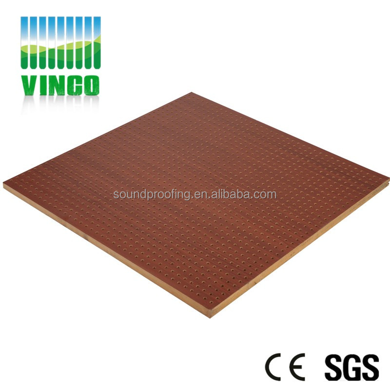 Hot Selling Perforated Wooden Sound Acoustic Panel For Office ...