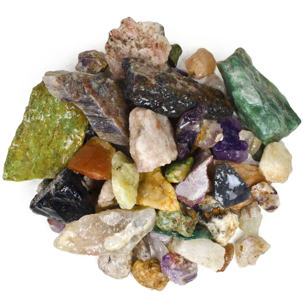 Buy Hypnotic Gems Materials 6 Lbs Of Bulk Rough Gemstone