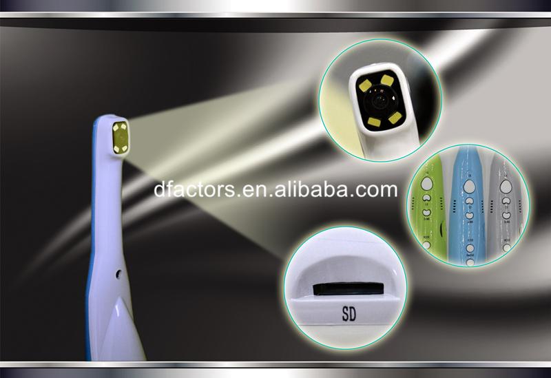 5.0 Mega Pixels Dental LED Super Cam Intraoral Camera with Monitor