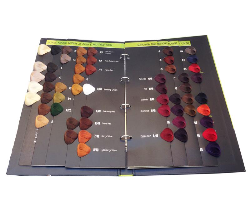 Oem hair color book salon hair color chart