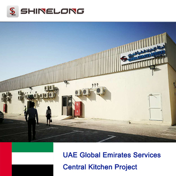 UAE Global Emirates Services Central Kitchen Project