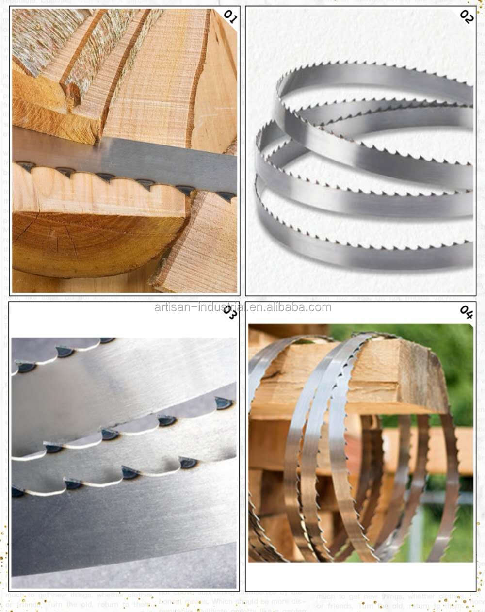 wood cutting band saw blades for sale