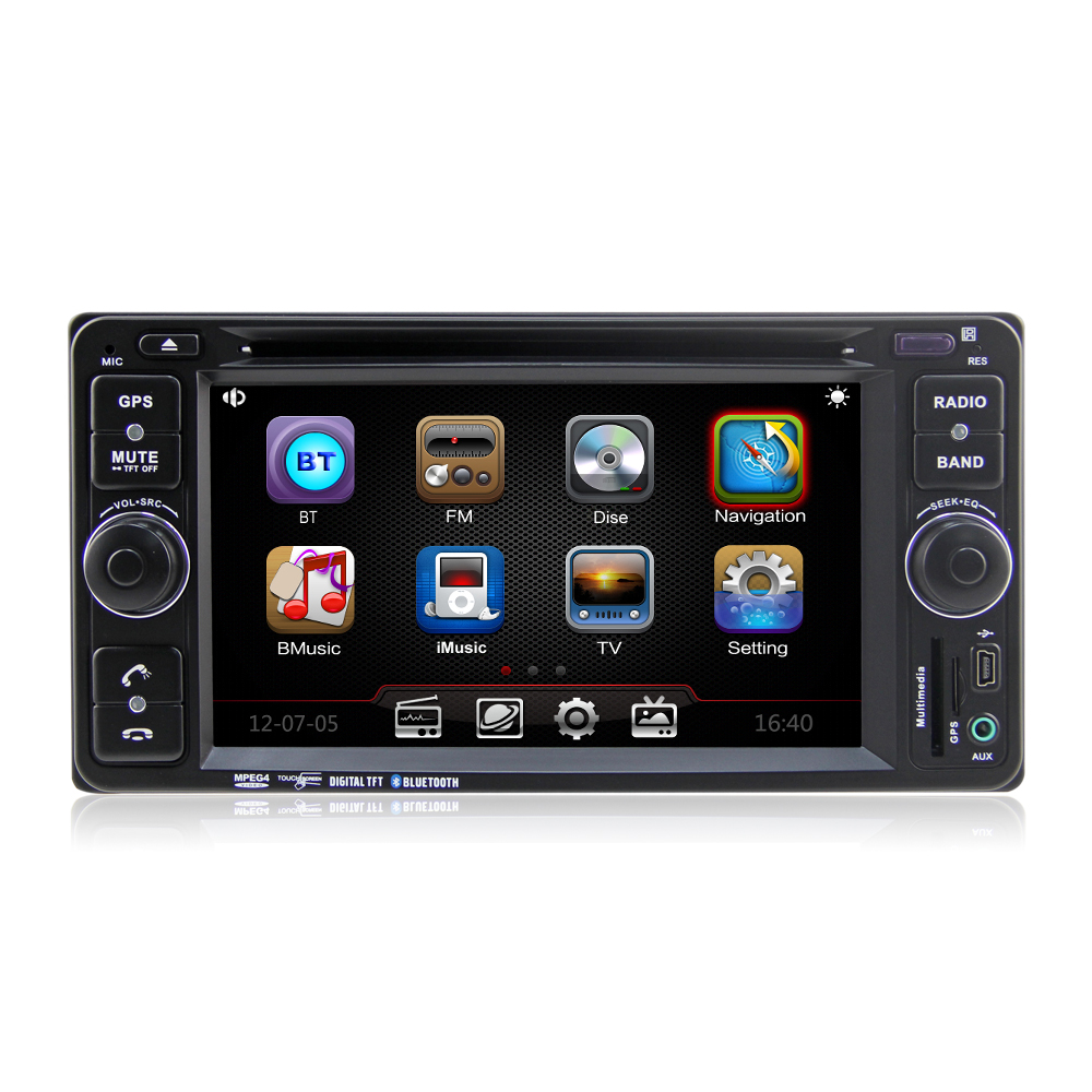 Winmark Special Car Radio DVD Player Stereo GPS 6.2 Inch 2 Din With Bluetooth Radio GPS For TOYOTA FJ CRUISER DH6514