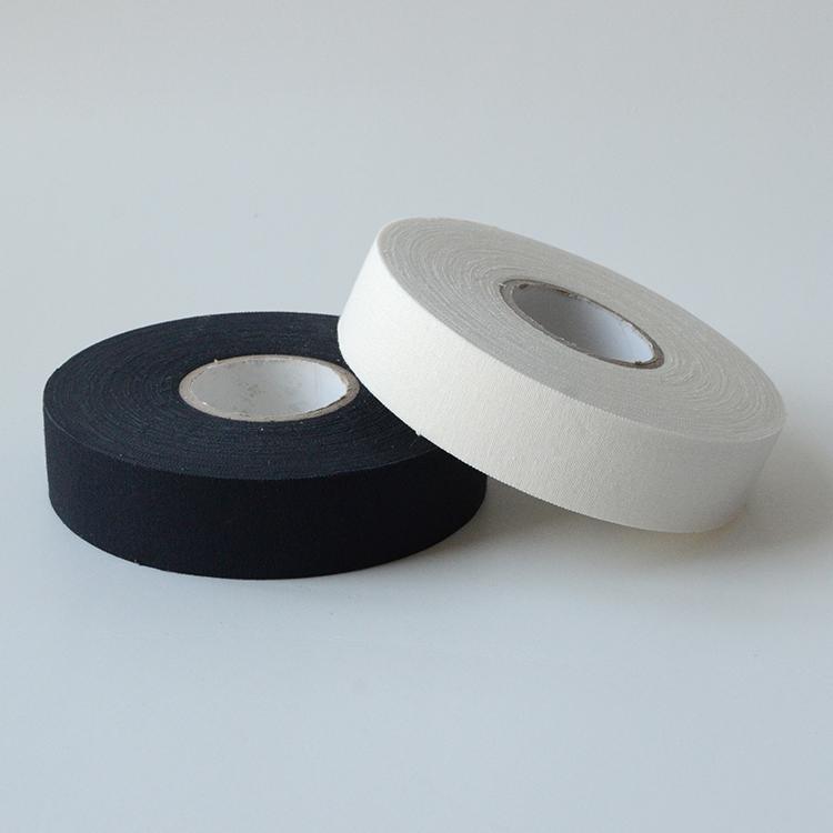 Custom logo zwarte doek hockey stick tape