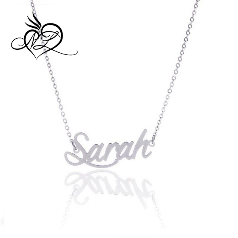 Personalized Name Sarah Custom Necklace Daily Wear Jewelry, Sarah