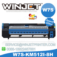 konica W7S KM512/1024 Cushion Storage konica solvent printers/ Packaging konica solvent printer