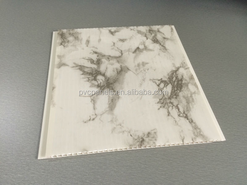 Waterproof Plastic Panels For Ceilings Marble Wall