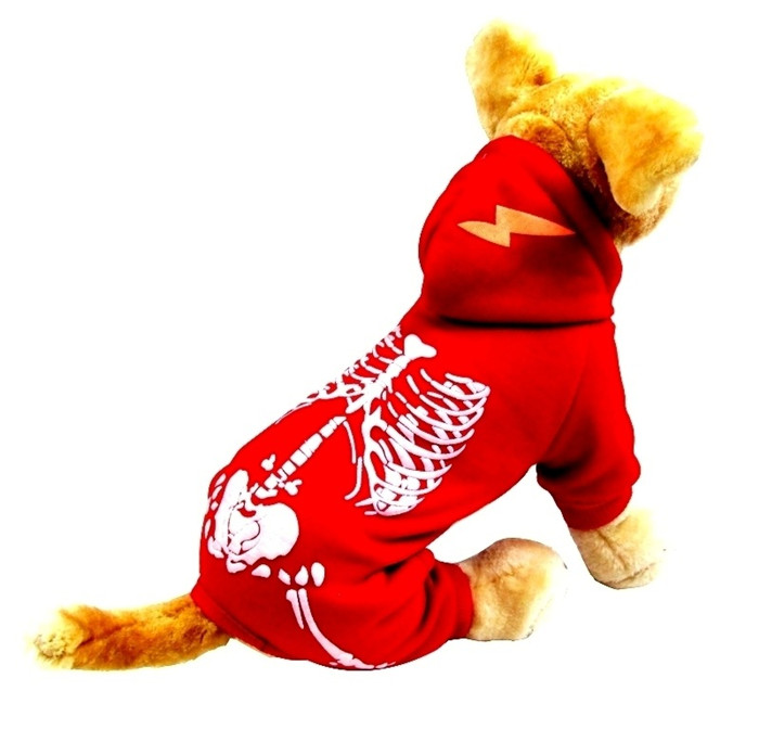 Puppy Night Glowing Skeleton Clothes Yorkie Halloween Costume Buy Halloween Costumespuppy Halloweenyorkie Halloween Costumes Product On