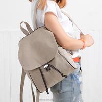 korean style backpack blank canvas backpack for school backpack 2016