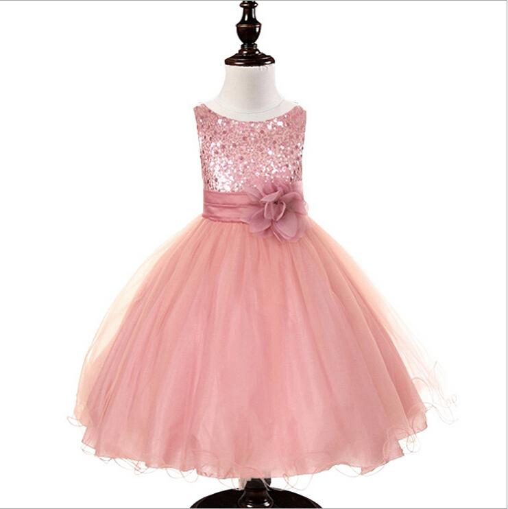 3 a 10 años Girls Fancy vestido de fiesta de navidad-Vestidos para ...