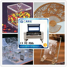 100W laser tube acrylic laser engraving cutting machine gold silver copper laser engraving and cutting machine