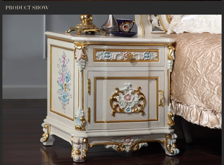 Antique Reproduction French Furniture-luxury Furniture Nightstand ...
