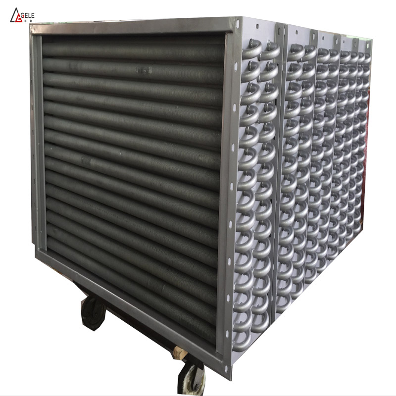 Stainless Steel Pipe Flat Fins Coiled Tubing Heat Exchangers or Cooling Exchangers Price