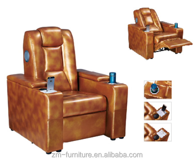 Vip Movie Theater Sofa Recliner Electric Vip Cinema Seats