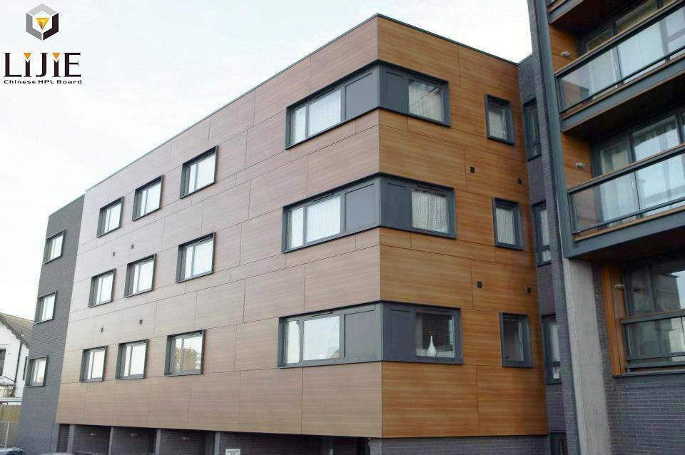 Lijie Waterproofing Hpl Exterior Wall Panel For Building Materials Buy Exterior Wall Panels