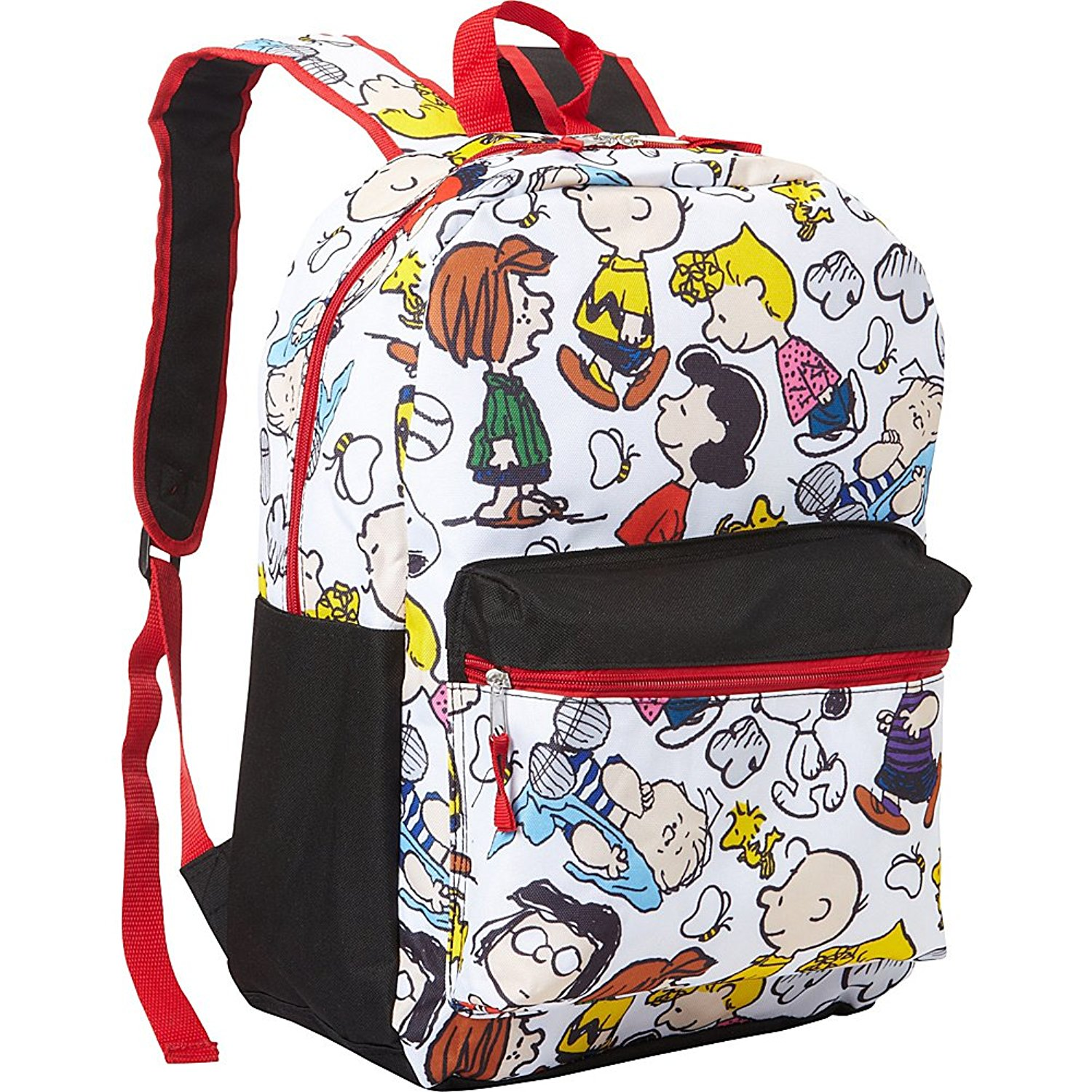 e6325d88a9 Get Quotations · Peanuts Snoopy Snoopy Backpack (White)