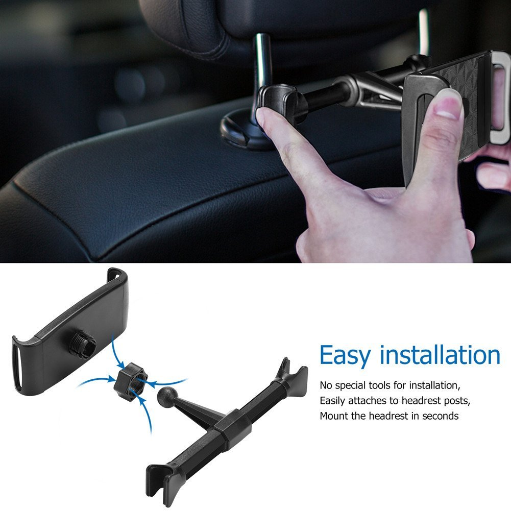 Mobile Phone PAD Tablet PC Universal Truck SUV Car Rear Pillow Stand Back Seat Car Headrest Holder