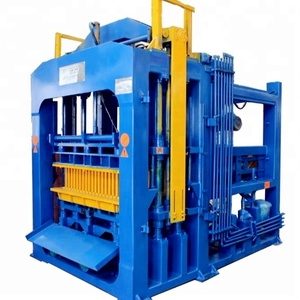 QT6-15 cheap startop China concrete solid hollow paver brick block making machine for sale factory price