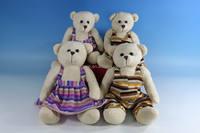 Plush teddy bear with skirt KXC51430D-S/kids toy bear/plush bear/plush kids toy