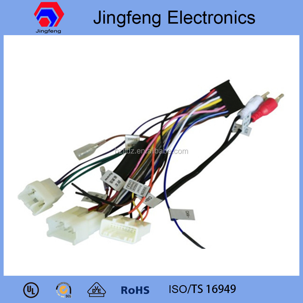 Toyota Innova Car Stereo Wiring Harness Alibaba Express In Fujitsu Ten Limited Radio Diagram Electronics Speaker Buy Harnesscar