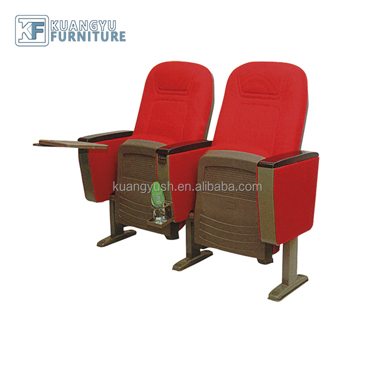 2018 cheap auditorium chair ,High back auditorium chair specific use cinema,Auditorium chair with writing table