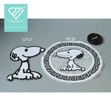 Fancy patch SNOOPY cartoon sequined patch wholesale