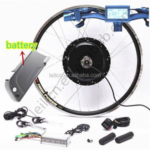 Factory sales directly,ebike conversion kit 48v 1000w ebike kit electric bike kit with 48v 11.6ah new bottle battery
