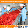 Auto small tomato paste production line automatic ketchup processing plant machinery cheap price for sale