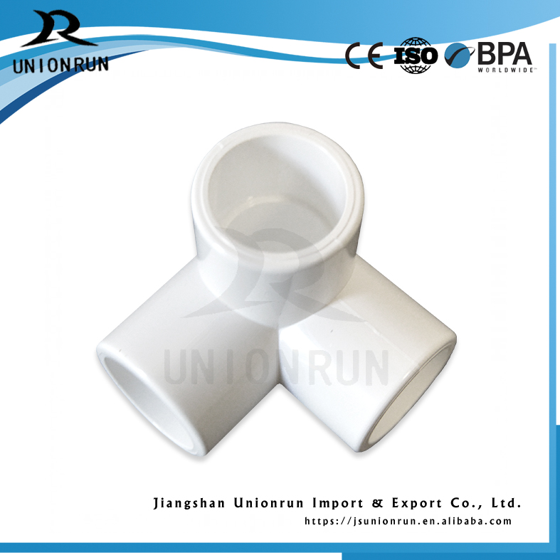 Alibaba Express China Tee Joint Pipe Tube Pipe Fittings Pvc 3 Way Elbow Picture