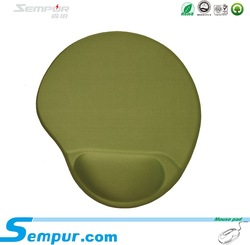 Factory direct high quality silicon gel mouse pad with wrist rest