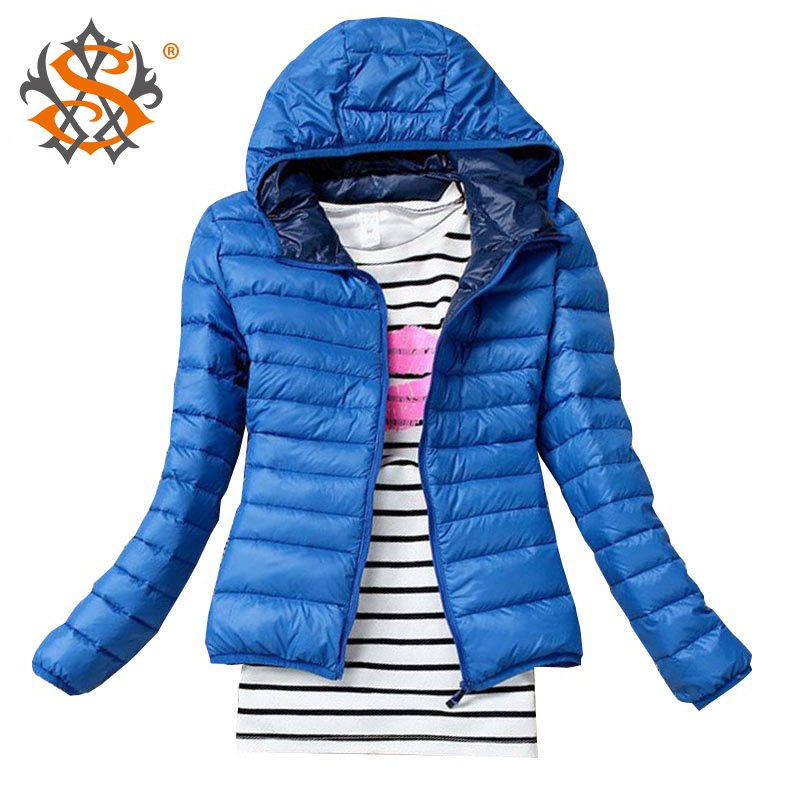 2014 New Fashion Casual Windbreaker Down Winter Women s autumn and winter women s Candy colored