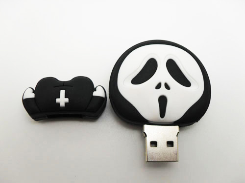 OEM Promotional Gifts Custom Shape Rubber Silicone PVC Memory Stick Disk USB Flash Drive