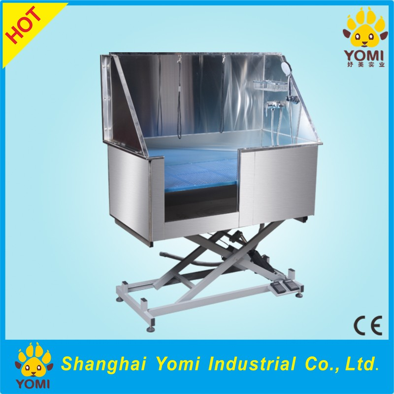 Shanghai Yomi YM-XY-004B pet stainless steel dog bathing tub
