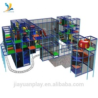 Theme Park Usage and Steel Material kids indoor tunnel playground design
