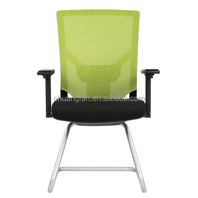 Guangzhou Supplier Wholesale Visiting Chair for Office High End Chair Mesh Back Ergonomic Office Chair without Wheels