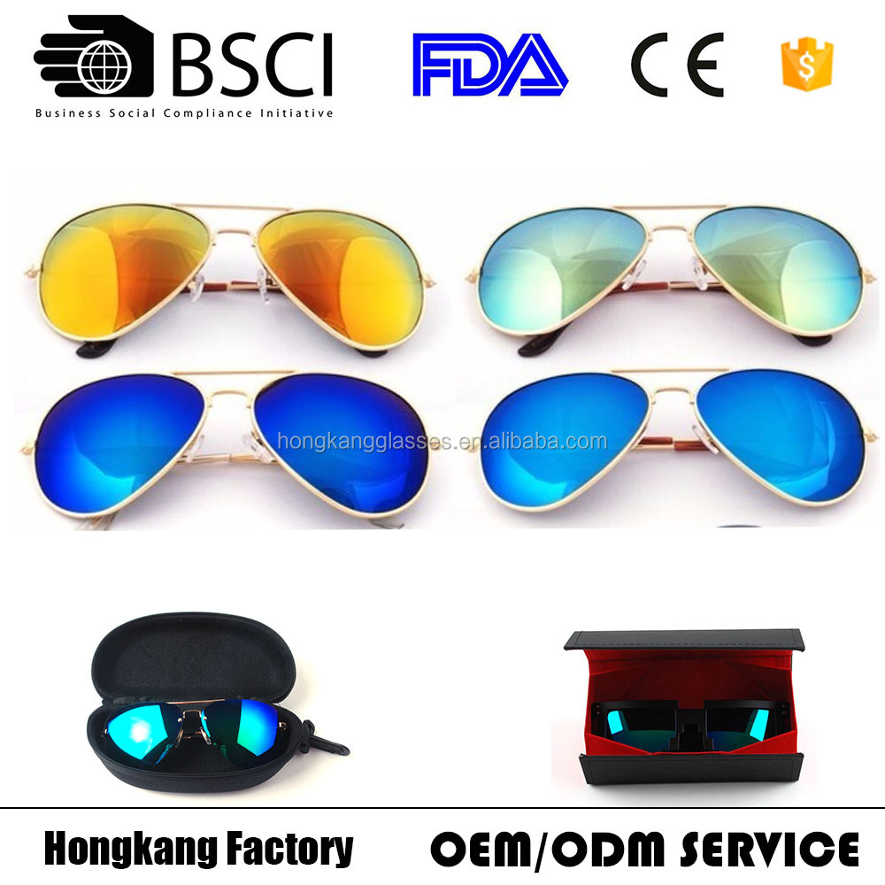 Metal men sun glass cool sunglasses for driving and riding