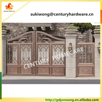 Beautiful Residential Wrought Iron Gate Designs Wrought Iron Main Gates Models Metal Iron Gate