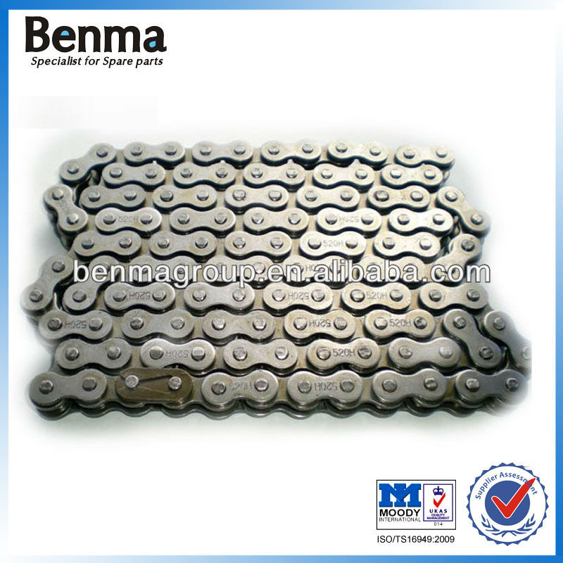 Motorcycle Transmission Chain 520H, Super Quality 520H Motorcycle Driving Chain, Professional Manufacturer Sell!!